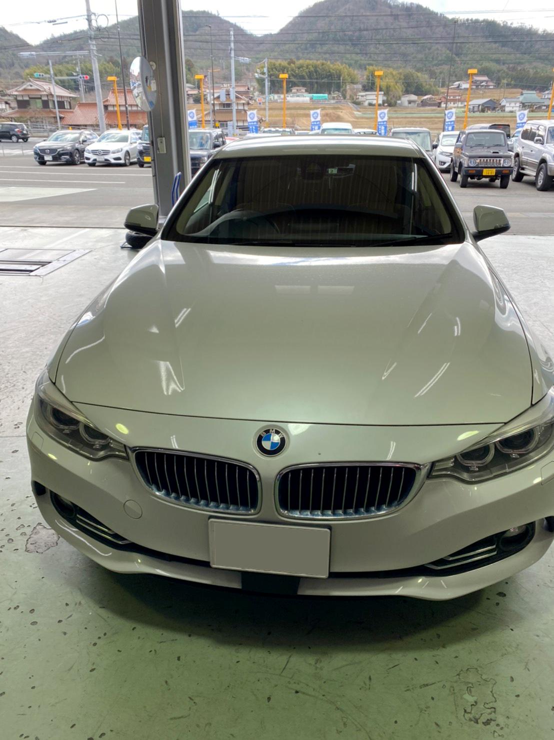 H26 BMW 4シリーズ 420iクーペスポーツ 1年点検